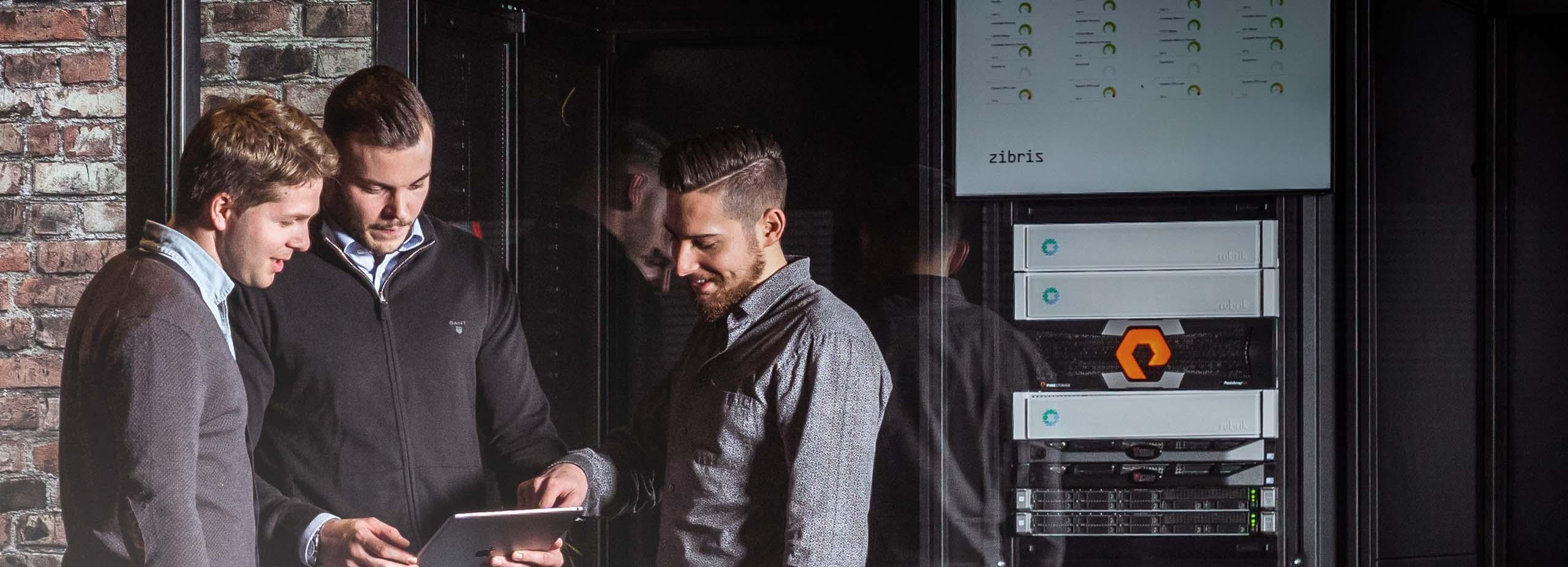 Datacenter – optimale Speicherung, Verwaltung und Verarbeitung Ihrer Daten